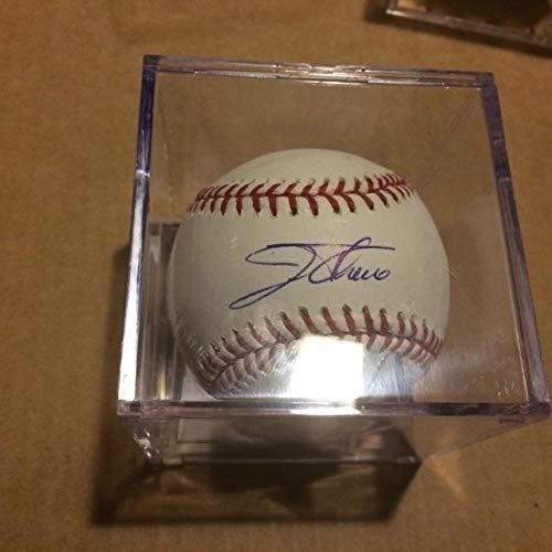 Jim Thomes Autographed Signed MLB Baseball JSA Authentic Hologram And Coa ()