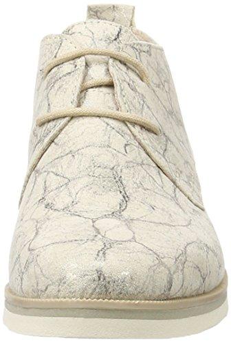 Marco Tozzi 25128, Botines para Mujer Beige (Dune Metallic 412)