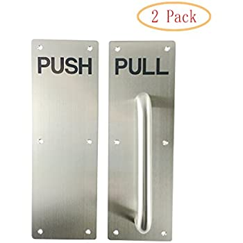Amazon Com Vrss 304 Stainless Steel Commercial Push Pull