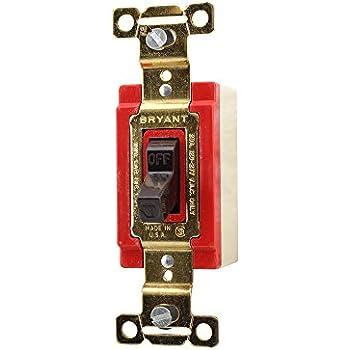 BRYANT TECH-SPEC 4901-L  AC SWITCH-Single Pole 20A NEW 120//277V AC