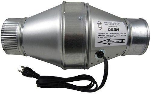 - Tjernlund DBM4 Duct Booster Fan for 4