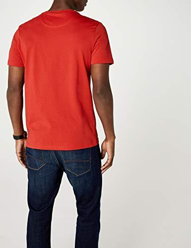 Neck Z353 T Lyle Red Uomo Crew shirt tomato Rosso amp; Scott xnxB67t4H