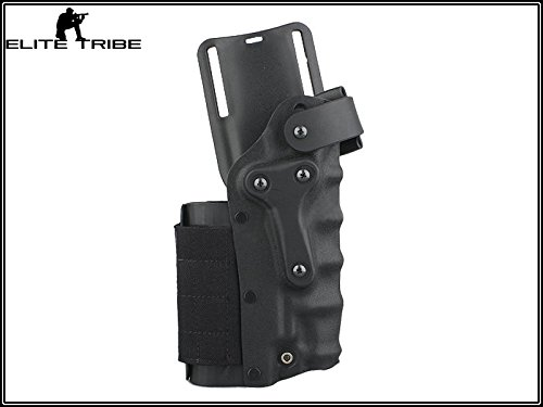Military Paintball Gun Pistol Holster Safriland Style 3280 Pistol Model Waist Leg Holster Black