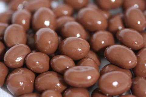 Milk Chocolate Covered Espresso Beans 10 Pound Box by Bayside Candy