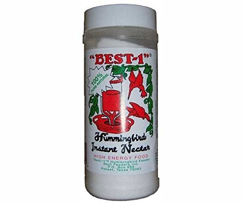 Best-1 Hummingbird Instant Nectar 14oz Container (Pack of 3) by Best 1