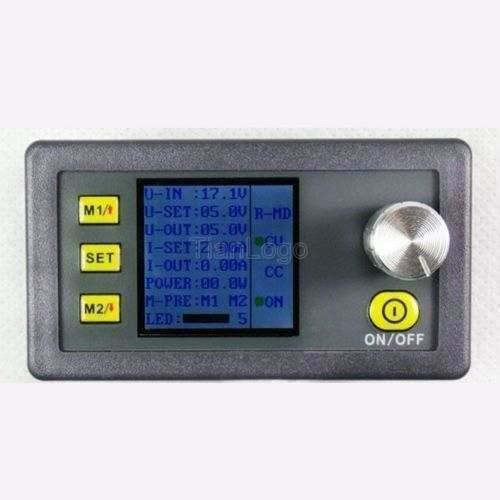 FidgetKute CNC DC 12V 2A Power Supplies Buck Volt Regulator CC CV+LCD Voltage Current Meter