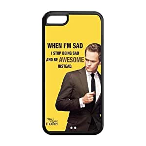 Fashion How i met your mother Personalized iPhone 5C Rubber Silicone Case Cover WANGJING JINDA