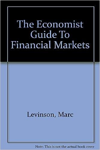 Guide To Financial Markets Levinson Marc 9781861971579 Amazon Com Books