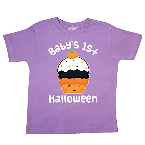 inktastic - Halloween Cupcake Cute Holiday Toddler T-Shirt 5/6 Lavender 26ddb -