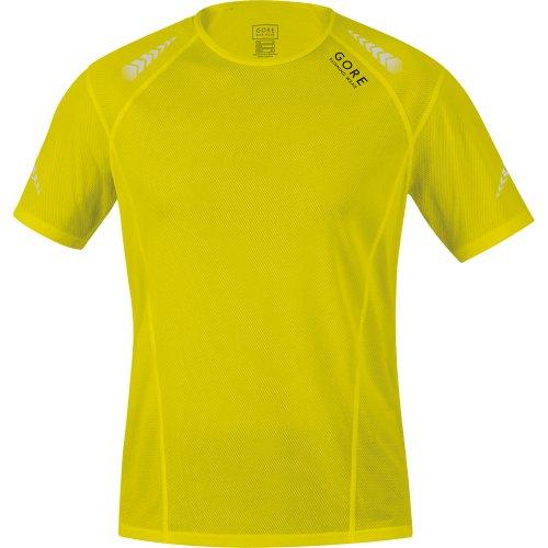 GORE RUNNING WEAR short sleeve MYTHOS 4.0 Shirt, neon yellow, size M