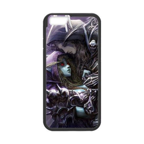 Sylvanas Windrunner coque iPhone 6 Plus 5.5 Inch cellulaire cas coque de téléphone cas téléphone cellulaire noir couvercle EEECBCAAN08359