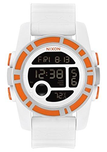 Nixon Unisex The Unit 40 - The Star Wars Collection Bb-8 White/Orange Watch