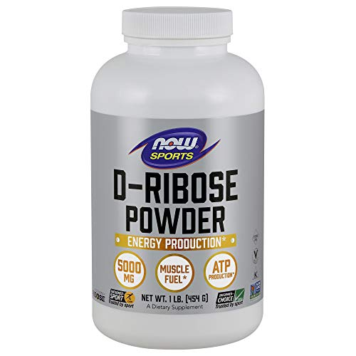 Now Sports Nutrition, D-Ribose Powder, 16-Ounce