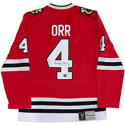 - Bobby Orr Signed Red Chicago Blackhawks Jersey - GNR COA