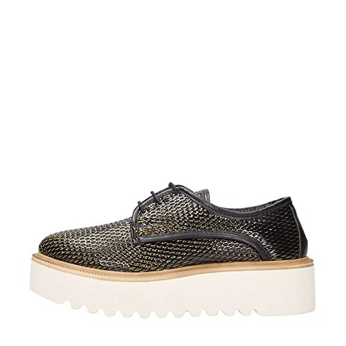 PINKO woman laced with 1P20QS Y2CL ZH4 CHEMICAL platform Black / Yellow 9oSznFkgoY