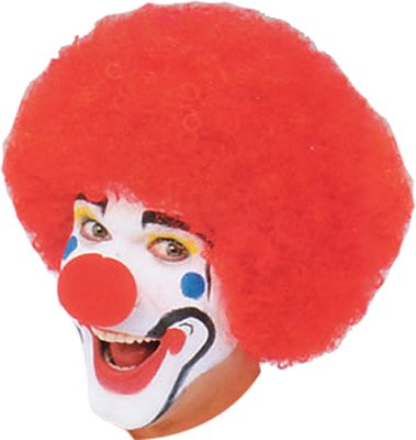 Red Clown Wig - One Size (Halloween Costumes Partycity)