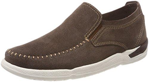 Sioux Herren Tureno-700 Pantofola Braun (legno)