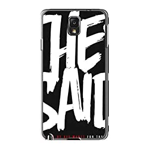 Protective Hard Phone Covers For Samsung Galaxy Note3 With Unique Design High-definition Mcfly Band Pattern KevinCormack