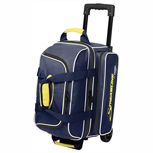 Storm Streamline 2 Ball Bag Navy/Gray/Yellow (Storm Bowling 2 Ball Bag)