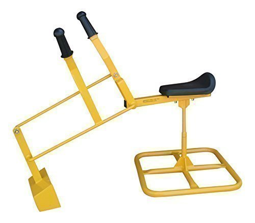 Childrensneeds Childrensneeds.com Tough Sand Digger, A Heavy Duty Metal Backhoe Toy: Kid, Yellow