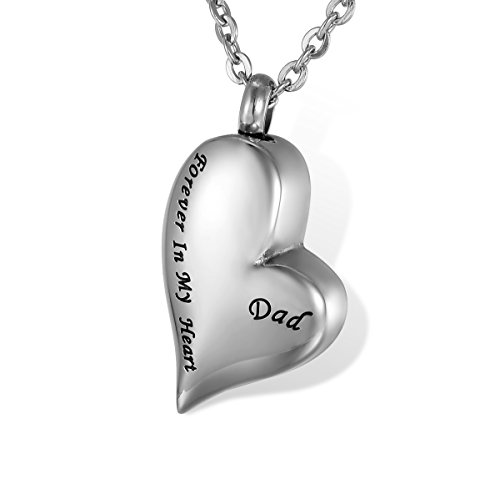 HOUSWEETY Love shaped Stainless Waterproof Necklace