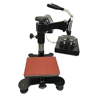 SigntigerGentle Swing Logo Heat Press Machine Manual Heat Transfer Press Logo Mark Printing Machine