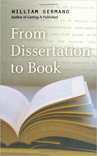 How to turn a dissertation into a book