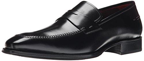Mezlan Men's Toulon Slip-On Loafer, Black, 14 M US
