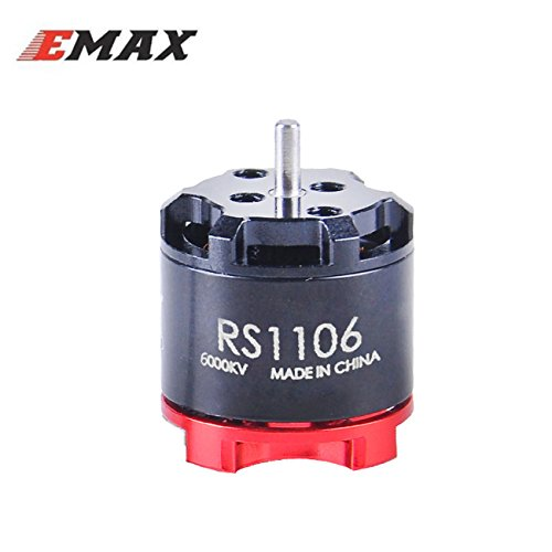 EMAX RS1106 1106 6000KV Brushless Motor for 60 70 80 90 100 FPV Racing Drone Quadcopter by Crazepony