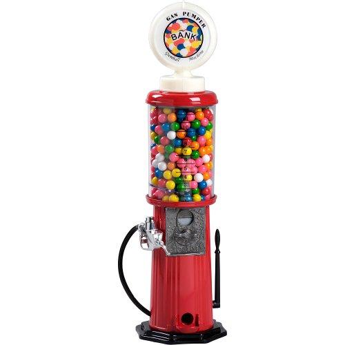 Carousel Gas Pump Gumball Machine, 21