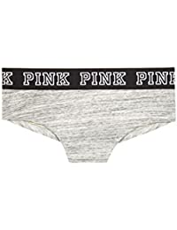 Pink Logo Cheekster Panty -Grey MARL. Victorias Secret