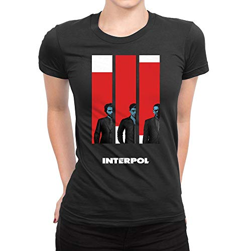 GOOD COME FROM Women's Interpol Band Short Sleeve T Shirt