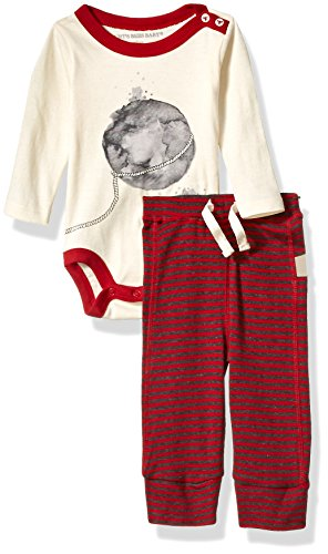 Large Product Image of Burt's Bees Baby Baby Organic Long Sleeve Bodysuit and Pant Set