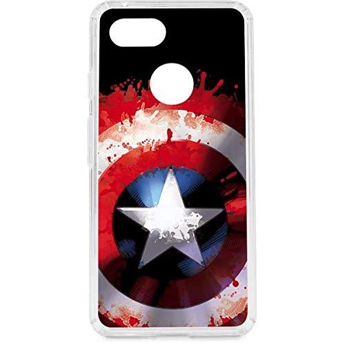 finest selection 8d3c1 12901 Amazon.com: Captain America Google Pixel 3 Case - Marvel/Disney ...