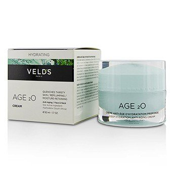 Velds Age 2o Deep Hydration Anti-Aging Cream  50ml/1.7oz Breast Enhancement Cream by Perfect Woman- 0.25 lbs