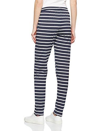 ICHI, Pantalones para Mujer Blau (Total Eclipse 14044)
