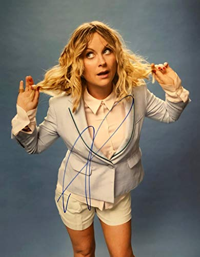 AMY POEHLER AUTOGRAPHED Hand SIGNED 11x14 Photo SNL Saturday Night Live Comedian -