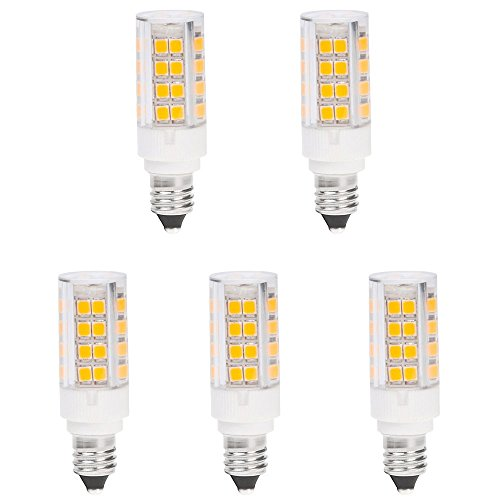 HERO-LED E11-51S-DW Mini Candelabra E11 Base T4 JD 120V LED