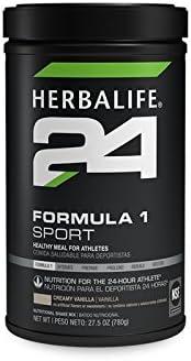 Herbalife 24 Formula 1 Sport Creamy Vanilla 27.5 oz 780g