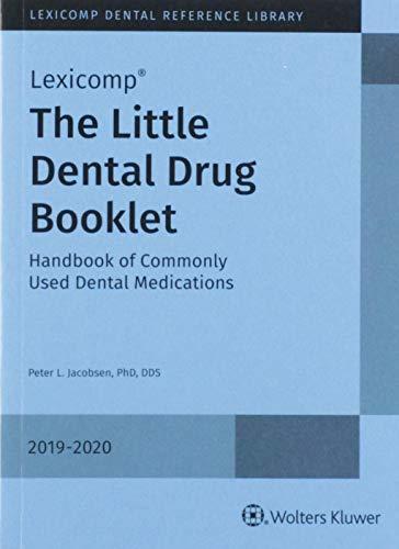 Little Dental Drug Booklet 2019-2020