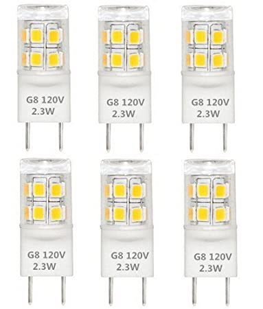 Best To Buy® T4 G8 Bi Pin LED Halogen Replacement Bulb,Under Counter