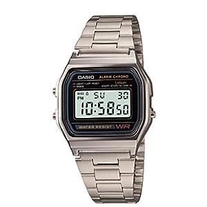 Casio Men's Quartz Plastic Casual Watch, Color:Silver-Toned (Model: EAW-A-158WA-1)