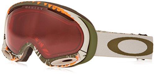 Oakley OO7044-11 A-Frame 2.0 Eyewear, Megashark Green, Prizm Rose - Prizm Goggles A Oakley 2.0 Frame