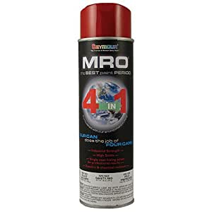 Seymour spray paint gloss safety red mro industrial for Spray paint safety