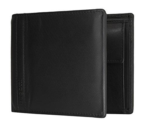 bugatti Trenta Coin Wallet 8CC Black