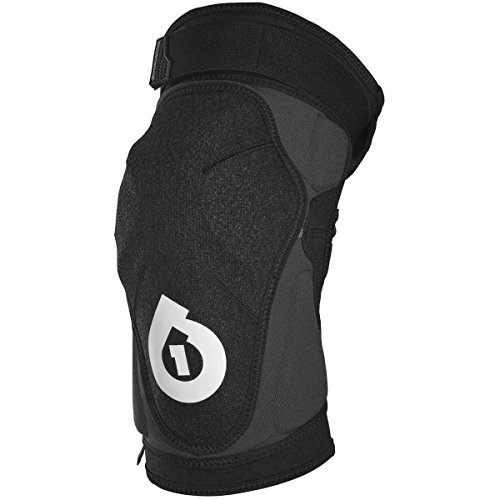 SixSixOne Unisex-Adult Evo Knee Guard II (Black, ()