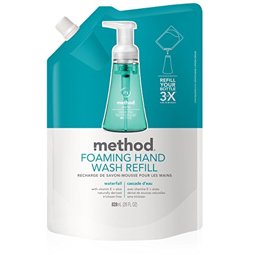 (Method Naturally Derived Foaming Hand Wash Refill, Waterfall, 28 Ounce)