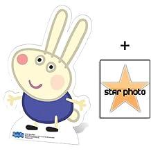 Fan Pack - Richard Rabbit (Peppa Pig) Lifesize Cardboard Cutout / Standee - Includes 8X10 (25X20Cm) Star Photo