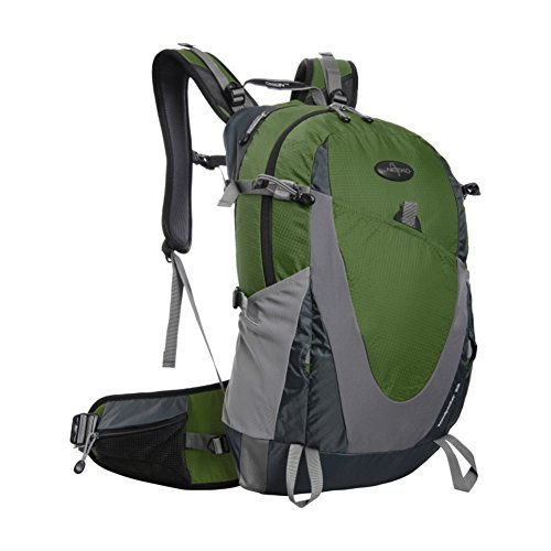 Outdoor mountaineering bag/Couple backpack/Waterproof hiking backpack large capacity/ tourist Double Pack-B by GHSQIAUVVERP