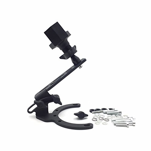 Motorcycle Camera/ GPS /Cell Phone/ Radar Tank Mount With Holder For Honda BMW Motorcycles - All years with traditional gas caps